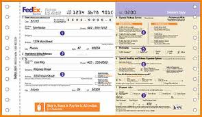 Fedex Air Waybill Download Chakrii
