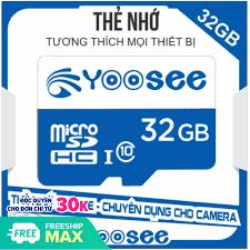 Thẻ Nhớ 32GB/ 64GB YooSee Chính Hãng Tốc Độ Cao - Chuyên dụng cho camera và  điện thoại - Bảo Hành 1 Năm