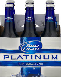 Bud Light Platinum 2018 Bud Light Platinum 12oz 6pk Bt