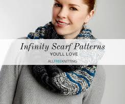 Knit Infinity Scarf Pattern Beauteous 48 Infinity Scarf Patterns You'll Love AllFreeKnitting