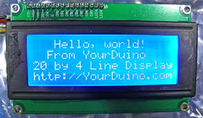 arduino info lcd blue i2c lcd displays blue and yellow i2c twi interface