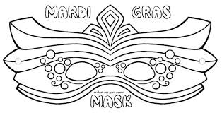 Small Picture Free printable mardi gras mask coloring pages crafts for kids
