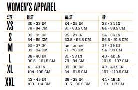 Custom Size Chart Sizing Chart By Chanbett