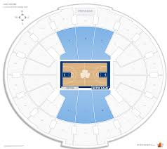 Notre Dame Stadium Detailed Seating Chart Joyce Center Notre Dame Seating Guide Rateyourseats Com