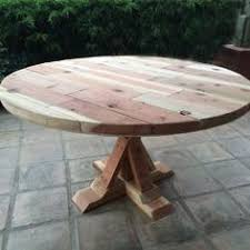 diy round outdoor table. Real Reader Showcase For The Design Confidential Round Provence Beam Outdoor Dining Table. 48\ Diy Table T