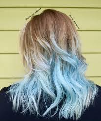 Pastel Light Blue Hair Pastel Blue Hair Frozen Hair Hair Colored Hair Tips