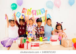 Child Birthday Image Shutterstock Com Image Photo Childrens Party