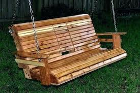 wooden yard swing porch swing bench building a porch swing porch swing bench with cup holder wooden yard swing