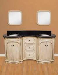 french country bathroom vanities. Antique Double Sink French Country Bathroom Vanity With MDF Buttercream Finish Vanities