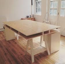 stylish diy desk ideas best ideas about build a desk on diy office desk
