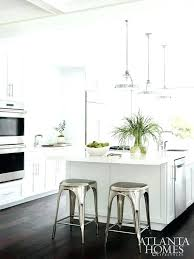 white breakfast bar stools white kitchen stools white kitchen with dark wood floors and industrial counter