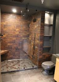 Bathroom:Simple Small Open Shower Design In Modern Bathroom Ideas With  Glass Door Fashionable Open