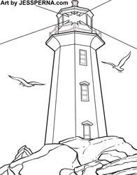 Small Picture Lighthouses Coloring Book Coloring Coloring Pages