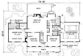 ... Stunning Idea Simple 5 Bedroom Home Plans 13 On Modern Decor Ideas ...