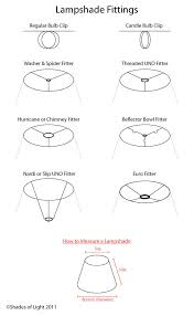 How To Measure A Lamp Shade Gorgeous How to Measure a Lamp Shade Shades of Light