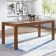 Massiver Baumstamm Tisch Mammut Esstisch Tische