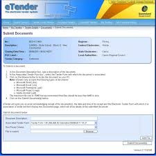 Tender Document Template Interesting Template Tender Document