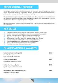 Resume Template For Real Estate Agents. Real Estate Resume Templates ...