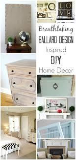 diy painted furniture ideas. Ballard Design Inspired DIY Home Decor Diy Painted Furniture Ideas G