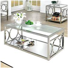 chrome and glass end table coffee table chrome and glass end table coffee designs small round chrome and glass end