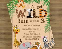 Safari Party Invitations Safari Party Invitation Barca Fontanacountryinn Com