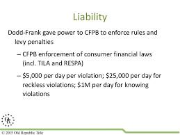 Trid Laws Trid Regulations Presentation By H H Settlement