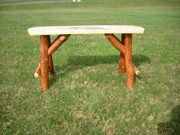 log rustic furniture amish. Rustic Sassafras Bark Amish Made Bench - Great For A Log Cabin, Hunting Lodge, Furniture