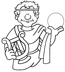 Small Picture Ancient Greek Gods Coloring Pages Inside esonme