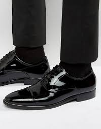 aldo gaville patent leather oxford shoes