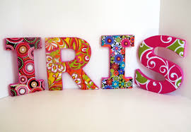 perfect decorative letters for wall