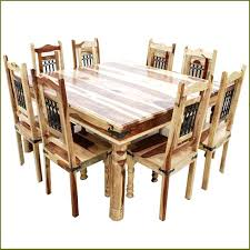 large dining room table sets 8 chair dining table set solid wood rustic square dining table