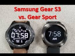 Samsung Watch Comparison Chart Samsung Gear Sport Vs Gear S3 Review Comparison Which One Should You Buy