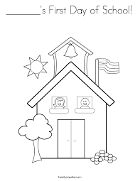 Small Picture First Day Of School Coloring Pages Coloring Pages Online