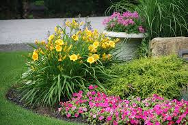 color garden. Add Beauty And Value To Your Property Through The Addition Of Seasonal Color Planting Mulching Garden