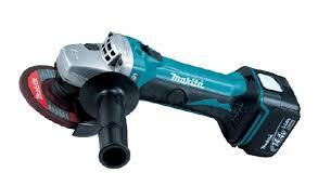 makita cordless grinder. makita cordless angle grinder bga450rfe / bga452rfe lithium 2