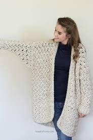 Chunky Crochet Cardigan Pattern Free