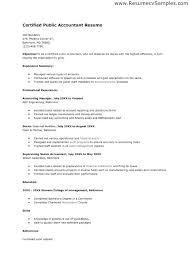 Certified Public Accountant Cover Letter Sarahepps Com