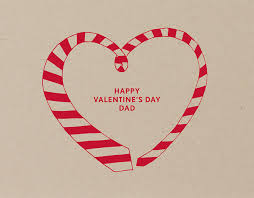 happy valentine s day dad. Delighful Day Striped Tie Valentine Card For Dad For Happy S Day 2