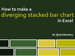 Diverging Stacked Bar Charts Excel How To Make A Diverging Stacked Bar Chart In Excel