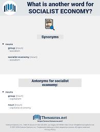 socialist economy synonyms for socialist economy antonyms for socialist