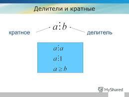 Презентация на тему Делители и кратные Теоретические сведения  3 Делители и кратные company кратное делитель