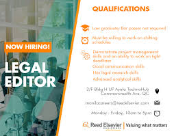 reed elsevier linkedin reed elsevier is looking for legal editors to be a part of our team below to know more about this opportunity