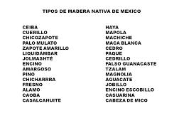 madera de nativa Mexico에 대한 이미지 검색결과