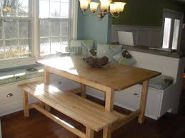 Impressive Popular Of Kitchen Table With Bench Seats And Best 20 Dining  Table For Kitchen Table Bench Seat Ordinary