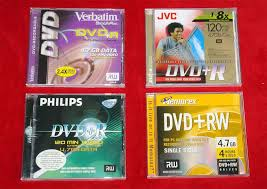 What Blank Dvd Discs Do You Use In A Dvd Recorder