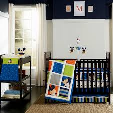 kidsline vintage mickey mouse 4 piece crib bedding set and accessories