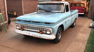 1963 Chevy c10 new project - YouTube