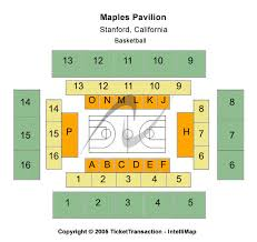 Maples Pavilion Tickets Maples Pavilion Seating Chart