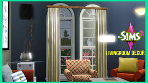 Sims 3 Bedroom Decor The Sims 3 The Baseline Living Room Decor Youtube