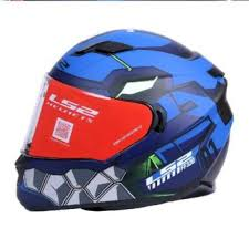 Ls2 Ff320 Angel Matt Blue Full Face Helmet